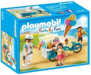 Playmobil Family Fun Marchand de glaces et triporteur