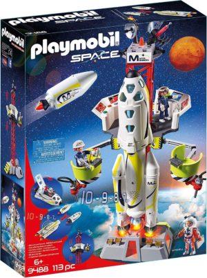 Playmobil - Fusée Mars avec Plateforme de Lancement