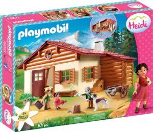Playmobil - Heidi avec Grand-Père et Chalet 1