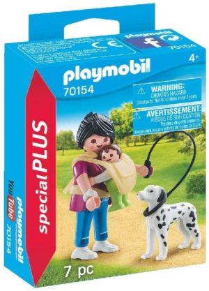 Playmobil Special Plus Figurines avec maman et petit chien
