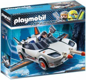 Playmobil Voiture de l'agent pilote