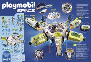 Playmobil space station spaciale mars