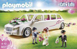 Playmobil Limousine avec Couple de mariés