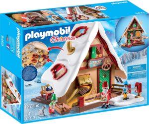 Playmobil - Atelier de Biscuit du Père Noël avec Moules