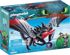 Playmobil Dragons Agrippemort et Grimmel