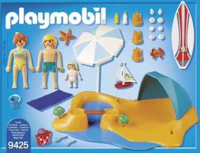 Playmobil - Famille de Vacanciers et Tente