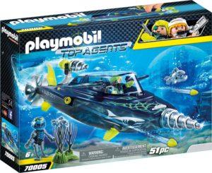 Playmobil Sous-Marin d'Attaque S.H.A.R.K Team