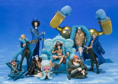 Figurine One Piece Nami 20th Anniversary Diorama 2 SH figuarts Zero 17 cm