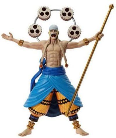 Figurine One Piece Enel le Dieu de la Foudre 9cm Banpresto