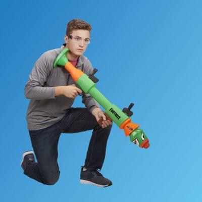 Blaster lance-missiles Nerf Fortnite RL et Flechettes Elite Officielles