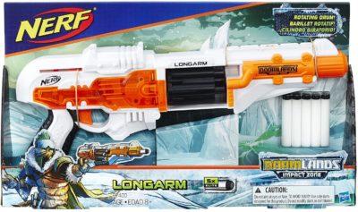Blaster Nerf Doomlands Impact Zone Longarm Hasbro