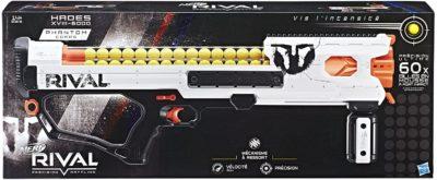 Blaster Nerf Rival Hades XVIII-6000 et Billes en Mousse Nerf Rival Officielles E0648FR2