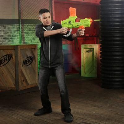 Blaster Nerf Zombie Revreaper et Flechettes Nerf Zombie Officielles
