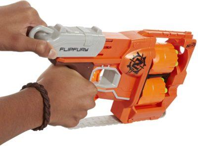 Blaster Nerf Zombie Strike Flipfury Hasbro