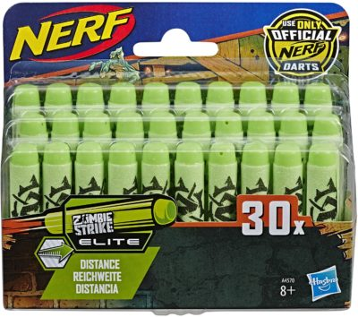 Fléchettes Nerf Zombie Officielles Pack de 30 Hasbro