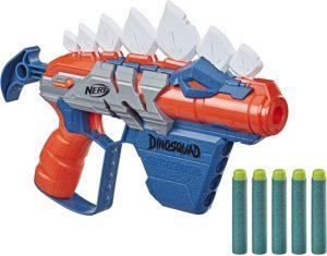Blaster Nerf DinoSquad Stegosmash et Flechettes Nerf Officielles